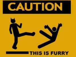 Caution THIS IS FURRY by shugo389