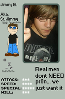 My Pixel ID - JIMMY by ArmaggedonBoy
