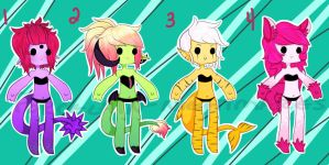Cheeb Batch Adopts 1 - Closed! by Porcelain-Nightmares