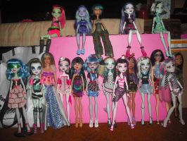 Our Doll Collection July 9, 2015 by CatsareCuteWMKM