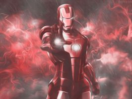 Iron Man Wallpaper by AgusholliD