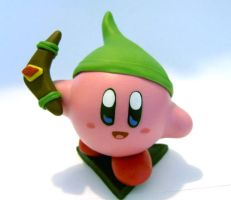 Funny Kirby with Boomerang by vrlovecats