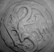 Dragon Seal by AtomicTerrier