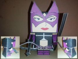 Cubeecraft Huntress by handita2006