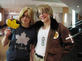 APH :: North American Brosephs by AnimosityCosplay