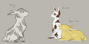 Some Watership Rabbits by Owlheart