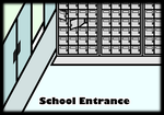 My custom walfas set - School Entrance by Rumiflan