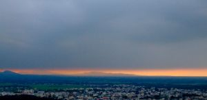 Sunset in Lahijan by Atarod