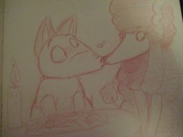 Lady and the Tramp Frankenweenie Style [remake] by kibadoglover45