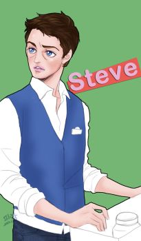 SteveCas by glaringstar