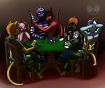Not Your Average Poker Game by MindOfGenius