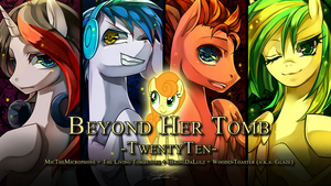 Ponymania Halloween - Beyond Her Tomb by Calenita