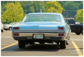 The Rear Of A 1965 Oldsmobile Delta 88 by TheMan268