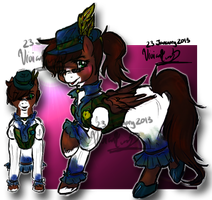 When You Look More Manly As a Mare CONTEST ENTRY by Twin-Divinity