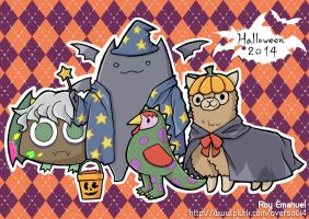 Halloween 2014 by oversoul4