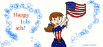 Happy July 4th from Sky! by Lunan95