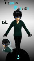 [MMD] Creepypasta OC - Travis Farrior .::DL::. by Laxianne