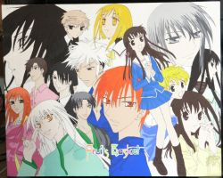 Fruits Basket Canvas 2 by Swagsman21