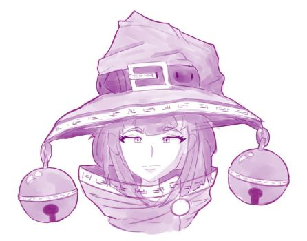 Witch Doodle by D1gg3R101