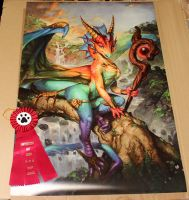 Prism Magic Anthrocon 2013 Staff Choice Award by The-SixthLeafClover