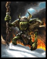 Goblin Shaman by Monkeypit
