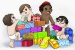Chibi Baby Bloc Party by Chocoreaper