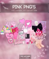 Pink png's | Pack by CeciiDeRose