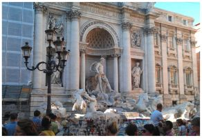 Fontana di Trevi by Tippy-The-Bunny