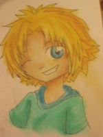Tidus Chalk by FeedTheBirds