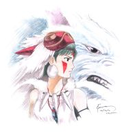Princess Mononoke by Nick-Ian