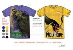 TShirt Designs for FoldedandHung-Marvel collection by RoniSaet