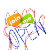 Join Me Open by WaffooI