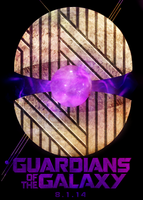 Guardians of the galaxy poster #2 by cherriousa