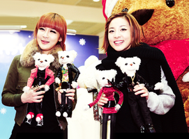 Bommie and Dara Unnie by snowflakeVIP