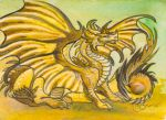 ACEO Dragon 34 by rachaelm5
