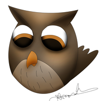 Angry Birds Owl Request 2 by Digital--Quill