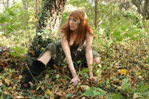 Forest dryad 3 by CAStock