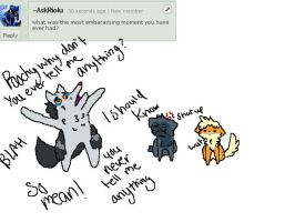 Question 7: Embarrassing by AskMightyena