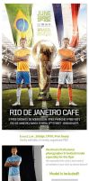 Brazil world Cup 2014  Soccer Flyer by saltshaker911