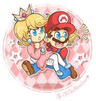 .:Run, Mario, RUN!:. by ThePinkMarioPrincess