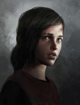 Ellie from The Last of Us by DziKawa