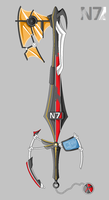 Keyblade: Mass Portal Key by Nemo-Nessuno