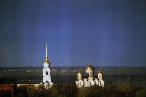 Uspensky and Dmitrievsky Churches by AnastasiaSia