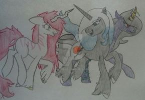 The Insane, The Demonic and The Curroption by Aria-Platinum