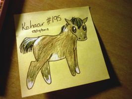 Daily post it - watcher gift by Fortitude-Equestrian