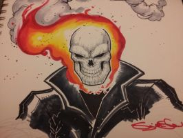 Ghost Rider using COPIC by Sajad126