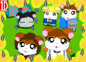 One Direction Ham Hams by OneDirectionFanJohn