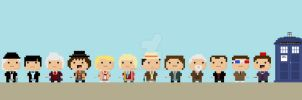 The Day of the Doctor in 8-Bit! by hilarion