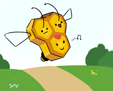 Combee by PokeFusher
