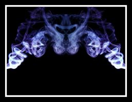Abstract Smoke Series 04 by mgfletcher